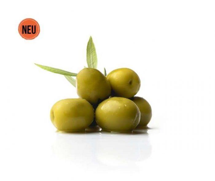 Gordal Oliven Premium Gourmet Torremar mit Stein Cortes GourMed Großhandel delikatessen spanien
