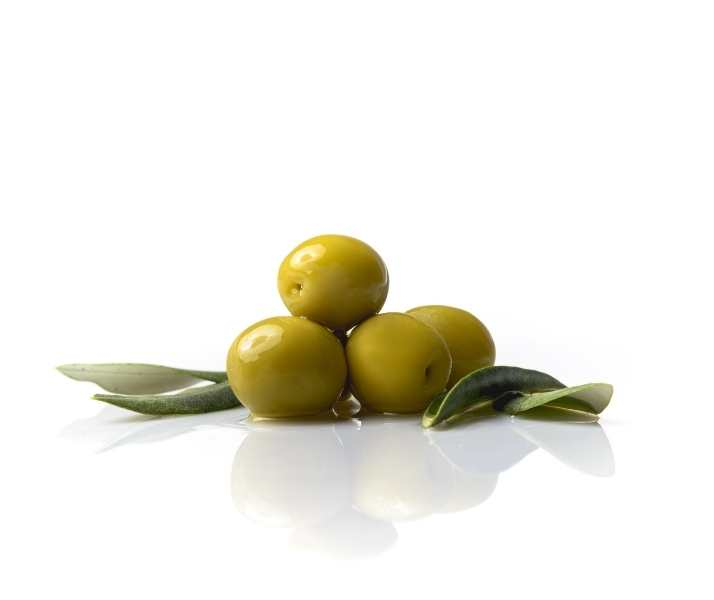 Manzanilla oliven gefüllt mit Orange Torremar Cortes GourMed Premium Oliven Spanien